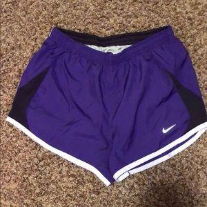 Purple Nike Athletic Shorts Size XS